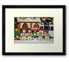 Ghostbuster at the North Pole Framed Print