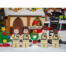 Ghostbuster at the North Pole Photographic Print