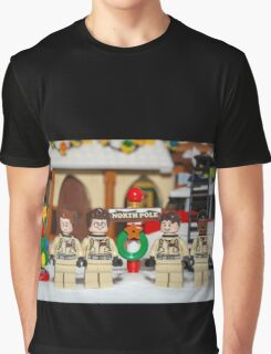 Ghostbuster at the North Pole Graphic T-Shirt