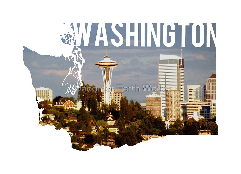 Washington - Seattle by Daogreer Earth Works