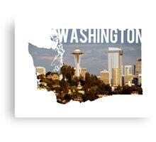 Washington - Seattle Canvas Print