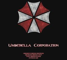 Umberella Corporations Resident Evil T-Shirt One Piece - Short Sleeve