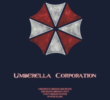 Umberella Corporations Resident Evil T-Shirt Kids Tee