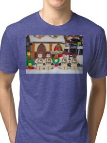 Ghostbuster at the North Pole Tri-blend T-Shirt