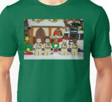 Ghostbuster at the North Pole Unisex T-Shirt