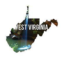West Virginia - Waterfall by Daogreer Earth Works