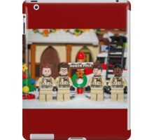 Ghostbuster at the North Pole iPad Case/Skin