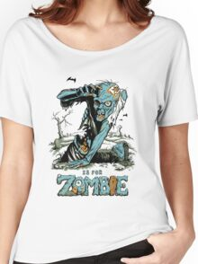 Z is for Zombie Women's Relaxed Fit T-Shirt