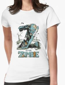 Z is for Zombie Womens Fitted T-Shirt