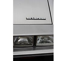 DeLorean Photographic Print