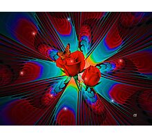 Sparkle of Roses Photographic Print