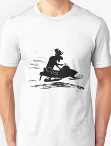 Moose rider  Unisex T-Shirt