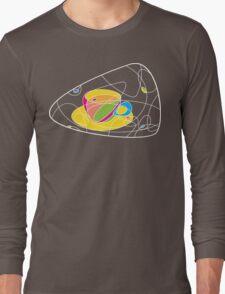 coffee shapes Long Sleeve T-Shirt