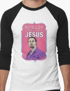 BIG LEBOWSKI-Jesus Quintana- Nobody F*cks with the Jesus Men's Baseball ¾ T-Shirt