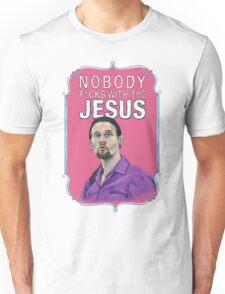BIG LEBOWSKI-Jesus Quintana- Nobody F*cks with the Jesus Unisex T-Shirt