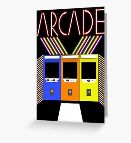 Arcade Greeting Card