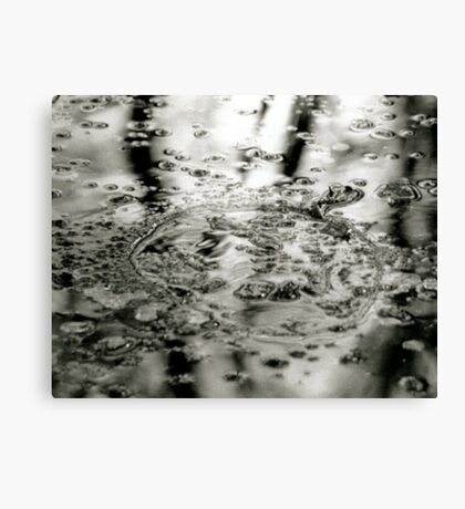 Abstract Ice Canvas Print