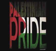 Palestinian Pride T-shirt by usubmit2allah