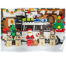 Santa and the Ghostbusters Poster