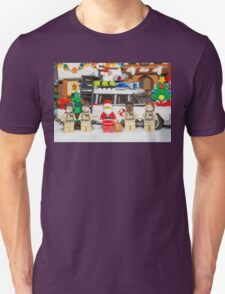 Santa and the Ghostbusters T-Shirt
