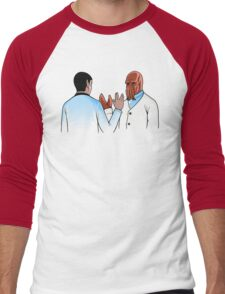 Vulcan Salute Men's Baseball ¾ T-Shirt