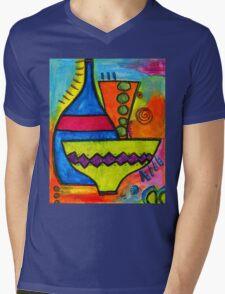 Pottery Mens V-Neck T-Shirt