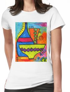 Pottery Womens Fitted T-Shirt