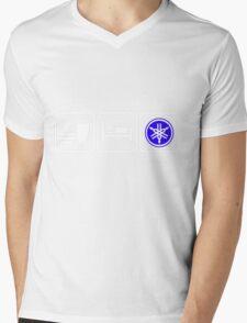 EAT SLEEP YAMAHA Mens V-Neck T-Shirt
