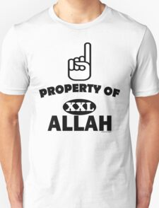 Property of ALLAH T-Shirt Unisex T-Shirt