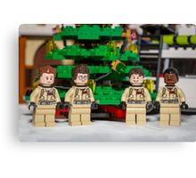Ghostbuster Christmas Tree Canvas Print