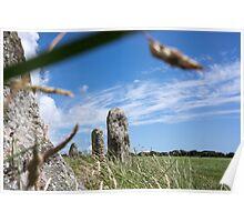 stone circle Poster