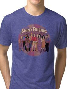 Shiny Friends Tri-blend T-Shirt