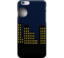 City Skyline and Moon iPhone Case/Skin