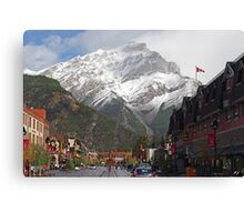 Main Street Banff Canvas Print