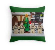 Small Tree GhostBusters Throw Pillow