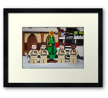 Small Tree GhostBusters Framed Print