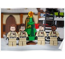 Small Tree GhostBusters Poster