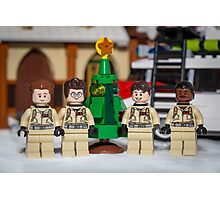 Small Tree GhostBusters Photographic Print