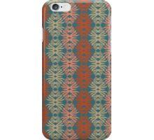 Shaggy Zaggy - Gray & Coral iPhone Case/Skin
