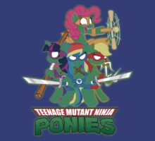 Teenage Mutant Ninja Ponies v2 by Phox