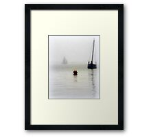 The Little Red Buoy Framed Print