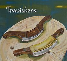 Travishers Old Tools of a Woodworker by BAR-ART
