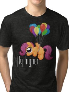 Fly Higher (My Little Pony: Friendship is Magic) Tri-blend T-Shirt