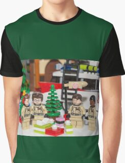 Ghostbuster Christmas Tree  Graphic T-Shirt
