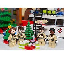 Ghostbuster Christmas Tree  Photographic Print