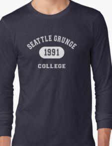 Grunge College Long Sleeve T-Shirt