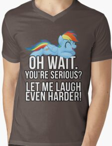 You're Serious?  (My Little Pony: Friendship is Magic) Mens V-Neck T-Shirt
