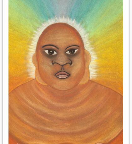 Budda Man Sticker
