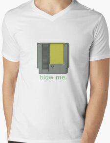Retro NES Shirt Mens V-Neck T-Shirt