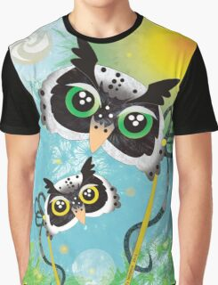 Day Owls Graphic T-Shirt